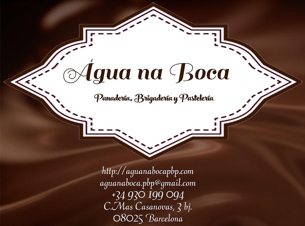áGua na Boca - Panadería, Brigadería y Pastelería