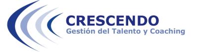 Crescendo, Gestión del Talento y Coaching
